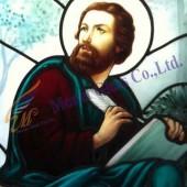 กระจกสเตนกลาส โบสถ์ลาซาล นครสวรรค์