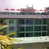 ระเบียงกันตก โรงแรม Amari ถนนเพชรบุรี